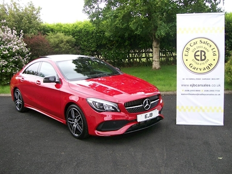 Mercedes Cla 220 D Amg Line Saloon 2.1 Automatic Diesel