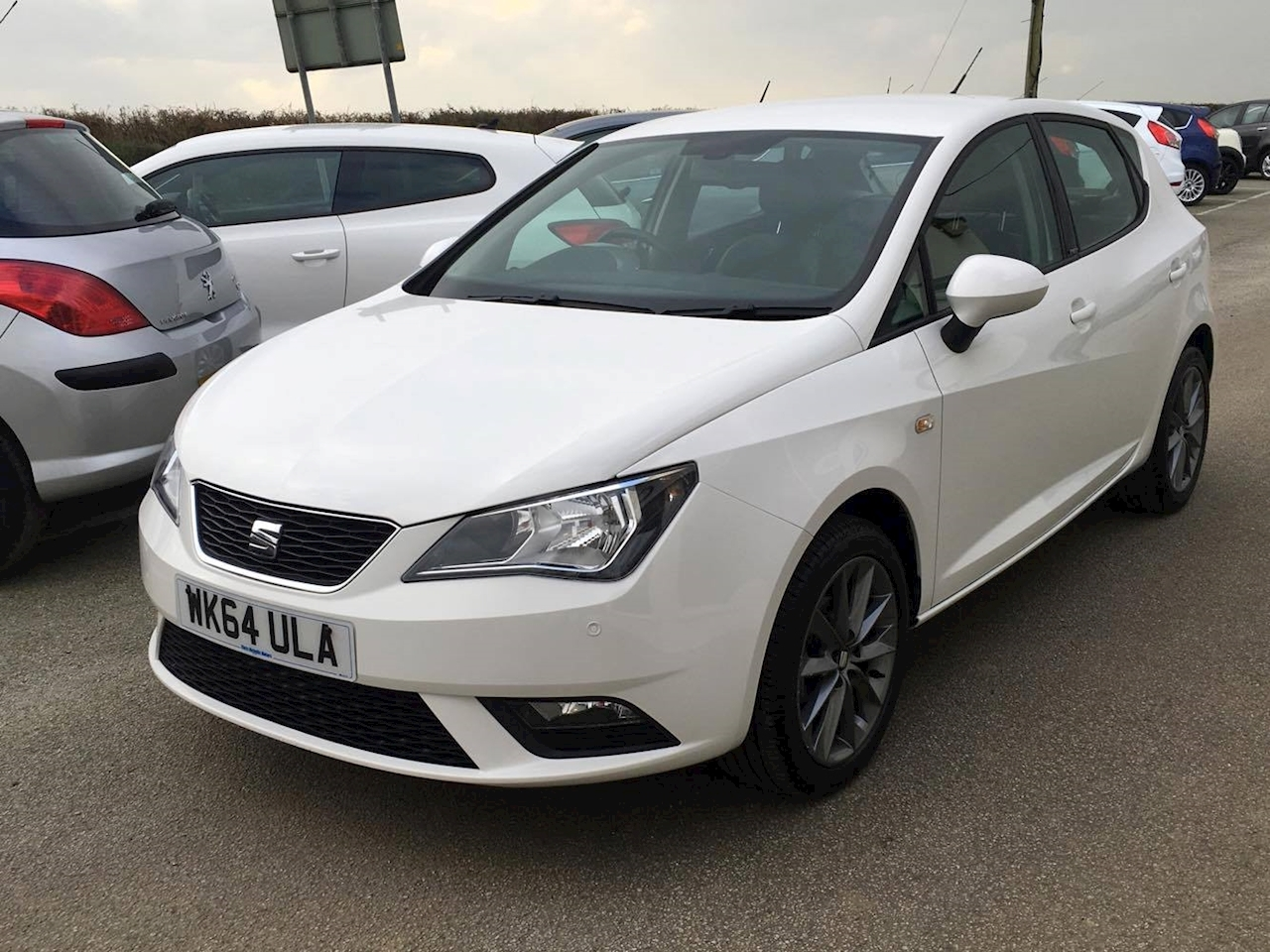 used 2014 seat ibiza 1 2 petrol tsi i tech hatchback chris nicholls motors ltd. Black Bedroom Furniture Sets. Home Design Ideas
