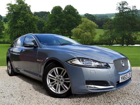 Jaguar Xf 2013 D Luxury Sportbrake