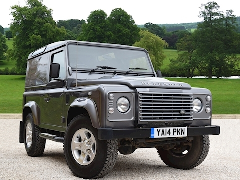 Land Rover Defender 90 Xs Hard Top 2014 Td Hard Top Xs