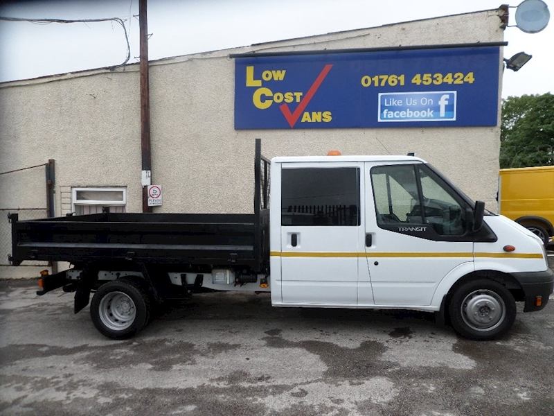 Ford Transit 350 Crew Cab Steel Tipper 100 ps  Drw