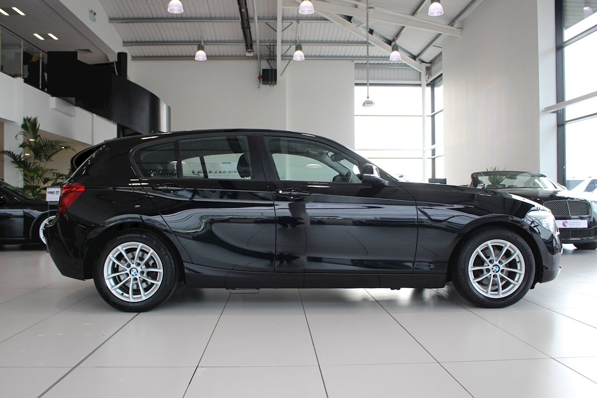 used bmw 1 series 116d efficientdynamics 116d. Black Bedroom Furniture Sets. Home Design Ideas