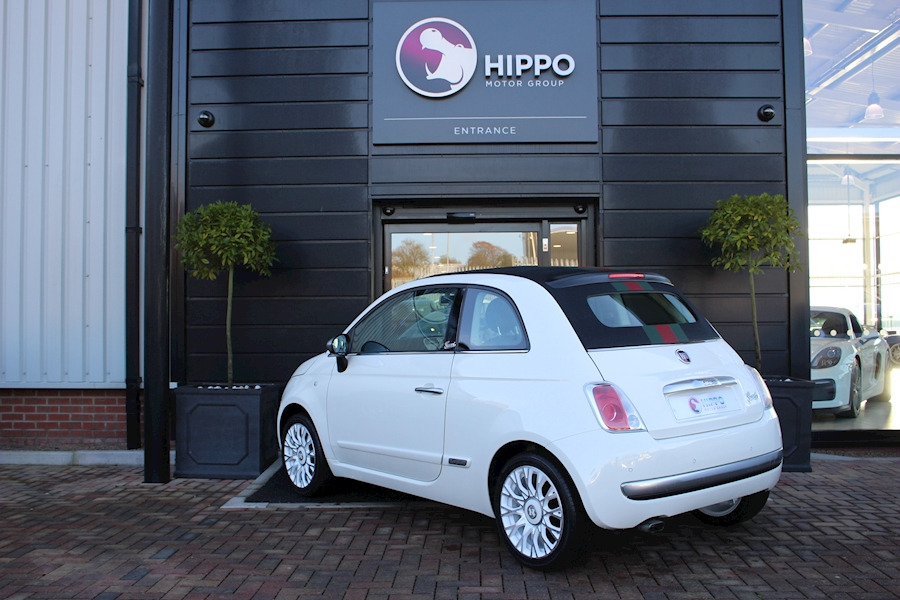 used fiat 500 500c by gucci dualogic 500c by gucci dualogic 2012 hippo prestige prep centre. Black Bedroom Furniture Sets. Home Design Ideas