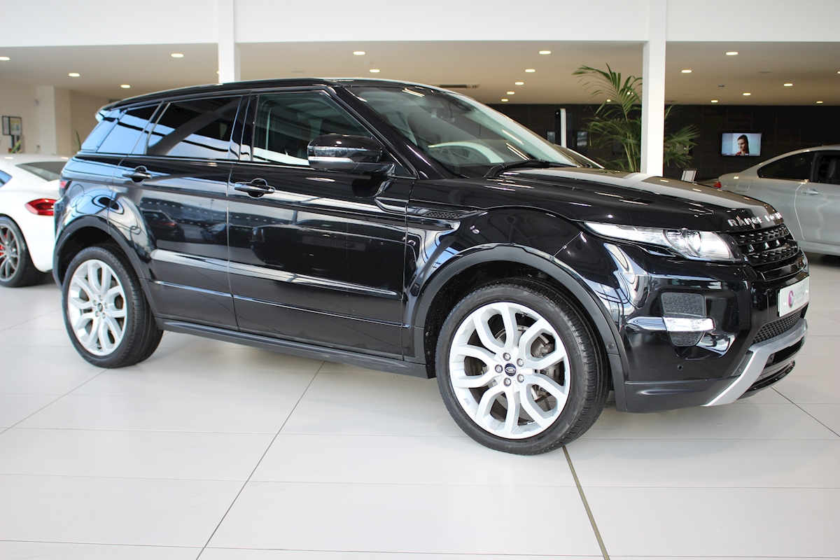 used land rover range rover evoque sd4 dynamic lux sd4. Black Bedroom Furniture Sets. Home Design Ideas