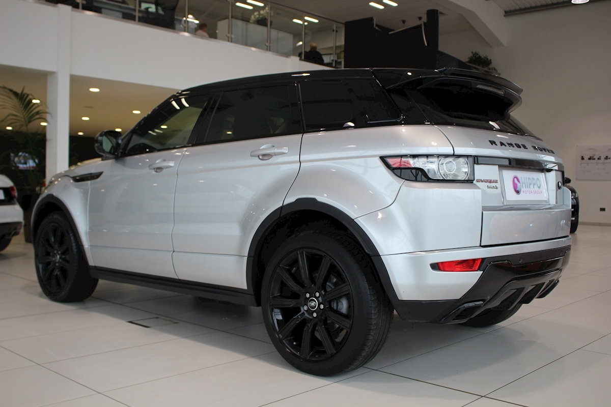 used land rover range rover evoque sd4 dynamic sd4 dynamic. Black Bedroom Furniture Sets. Home Design Ideas