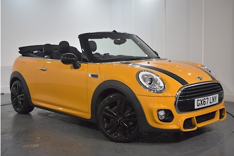 Mini – Mini Cooper Convertible 1.5 Manual Petrol (2017)